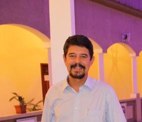 Gilvan de Oliveira no Centro Cultural Equato-Guineano (2)