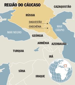 Região do caucaso