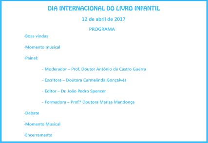 2 Convites Festa Dia do Livro PROGRAMA