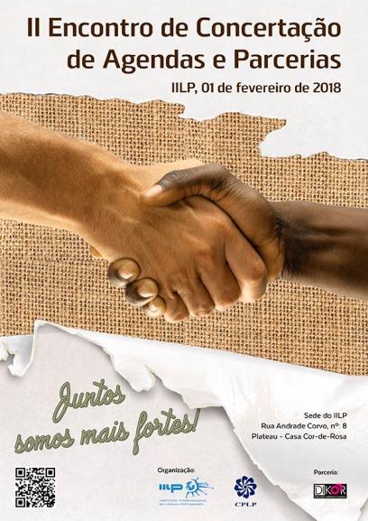 Cartaz II Encontro de Concertação e Agendas e Parceiros