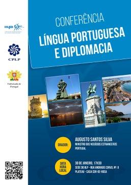 Cartaz - Língua Portuguesa e Diplomacia